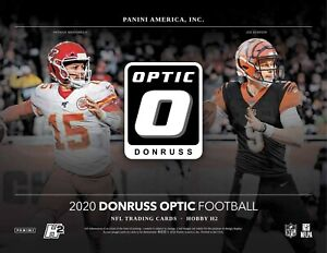 2020 Panini Donruss Optic Football YOU PICK To Complete Your Set From List 1-100