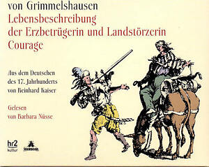 Lebensbeschreibung-der-Erzbetruegerin-und-Landstoerzerin-Courage-4-CDs-NEU
