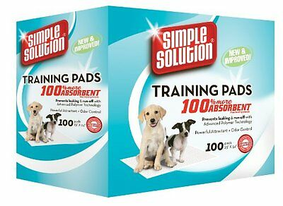 NEW Simple Solution Puppy Training Pads 100 Count FREE SHIPPING