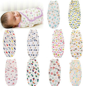 Newborn-Infant-Baby-Toddler-Swaddle-Wrap-Blanket-Sleeping-Bag-Sleep-Sack-Bedding