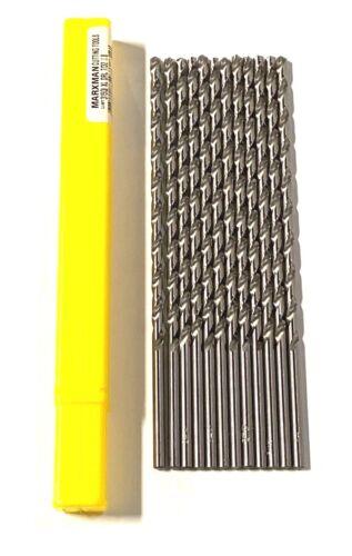 "Marxman 7//32/"" x 8/"" Drill Bit HSS Long Boy Extra Long 118° Point Drills 12 Pack"