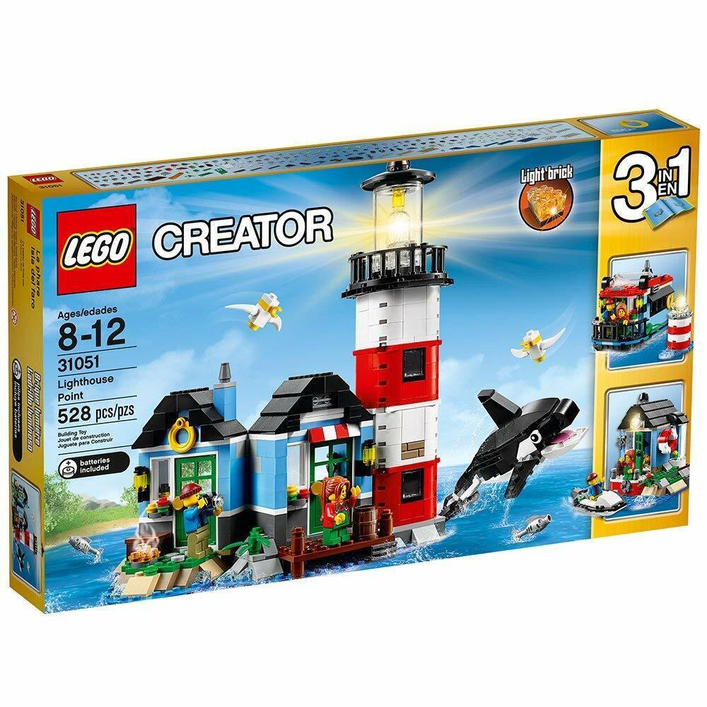 LEGO 31051 Creator 3-in-1  - LIGHTHOUSE POINT - nuovo & Sealed  vendita con alto sconto
