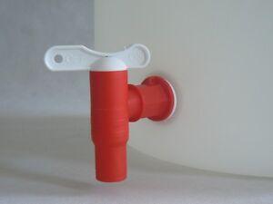 auslaufhahn mit dichtung wasserhahn regentonne regenfass hahn neu fass ebay. Black Bedroom Furniture Sets. Home Design Ideas