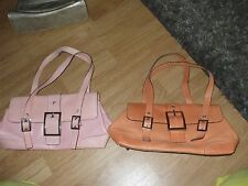 Maxx New York leather & lizard embossed  lot of 2 handbags will sell seperate