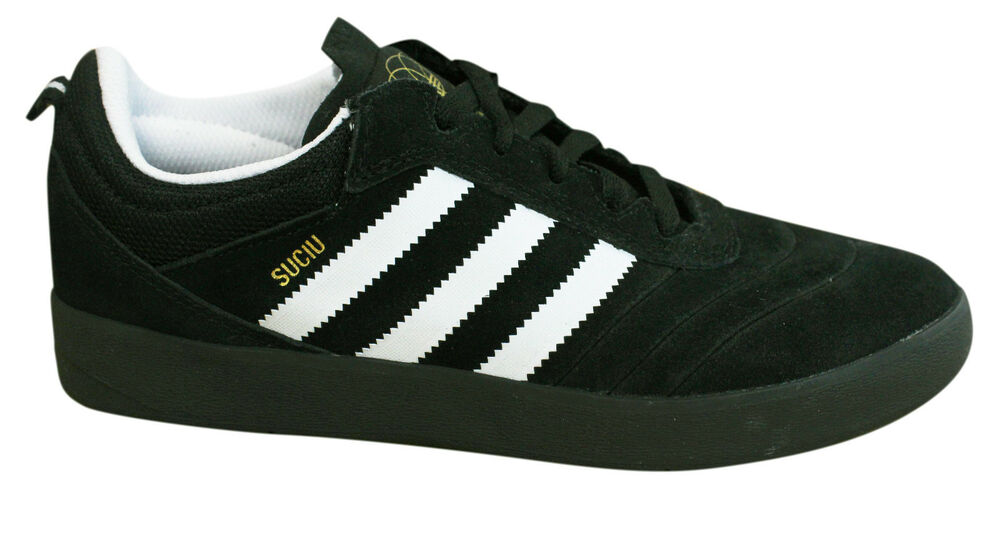 Adidas Originals Suciu Advance Baskets Hommes Noir P1 Blanc Cuir Daim BY3936 P1 Noir da06ab