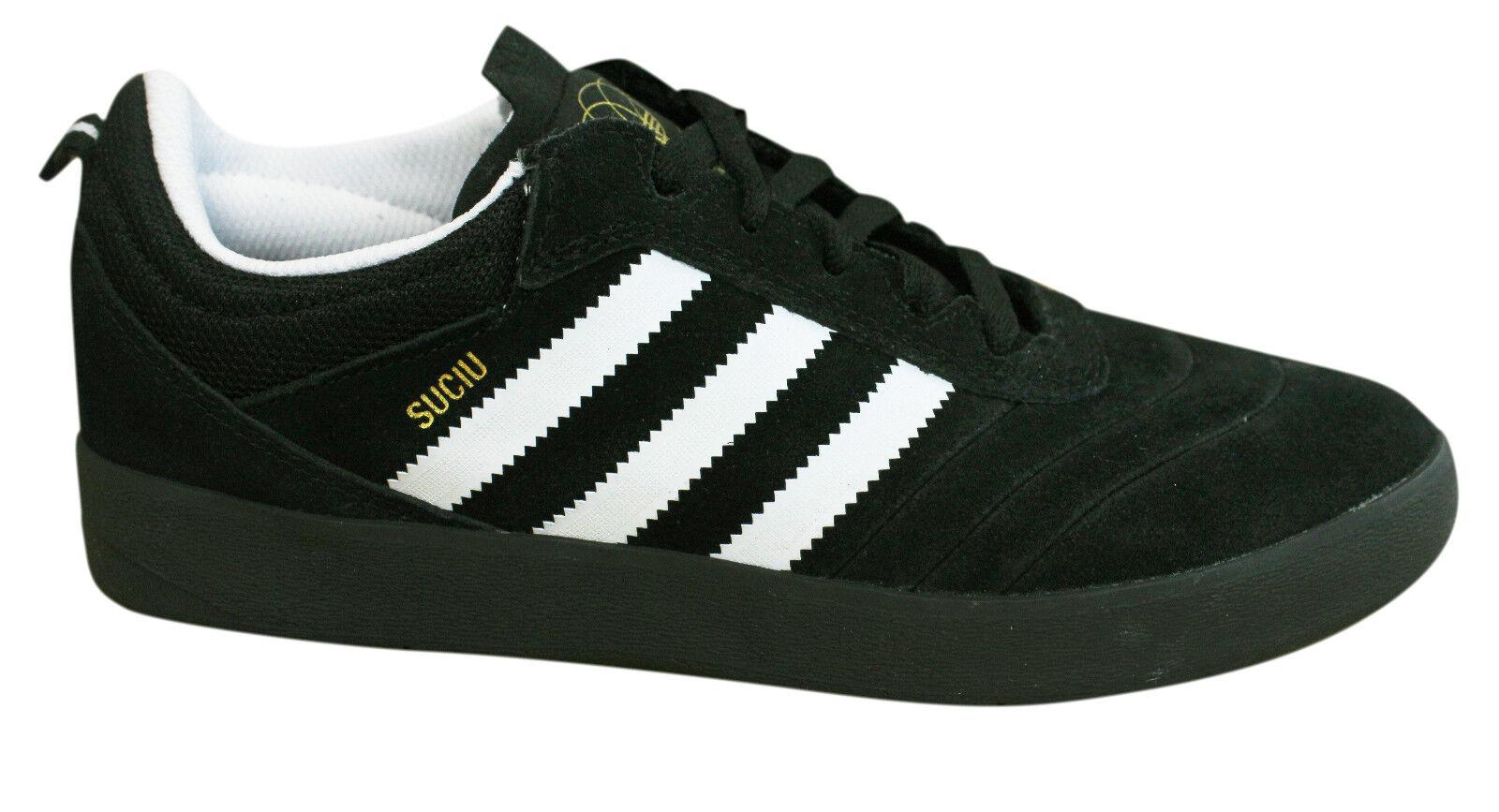 Zapatillas para hombre Adidas Originals Suciu Suciu Originals avance de Gamuza Cuero Blanco Negro BY3936 P1 3372c4
