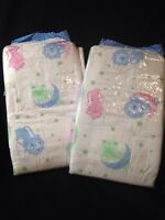 Tykables Overnights Adult Diaper Abdl Super Thick Nappy 2 Pack Sample