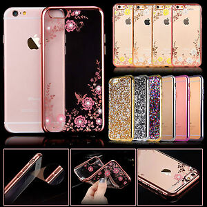 Luxury-Bling-Glitter-Shockproof-Soft-Silicone-Case-Cover-For-Various-phones