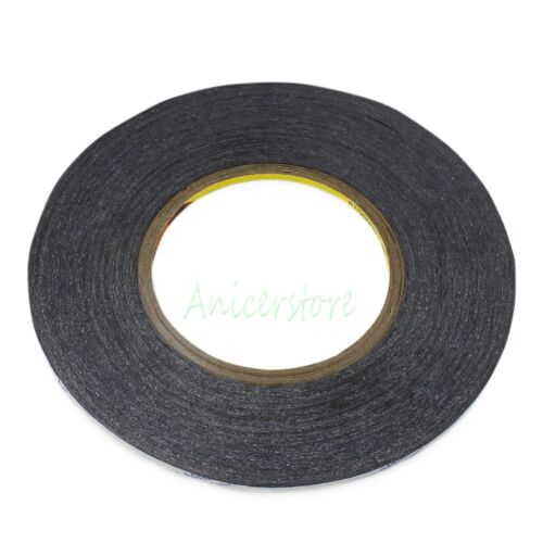 5mm x 50M Black Double Sided Adhesive 3M Tape CellPhone LCD Camera Screen Repair