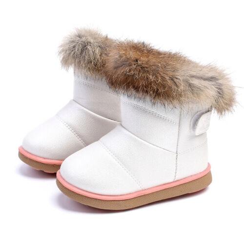 Zapatos para niñas Botas para niña Cálido Felpa Suave Nueva moda De Bota botines