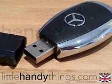 Benz Car USB 16GB Flash Drive Pen/Memory Stick Portable Storage Key Ring Gift