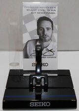 Seiko NASCAR Jimmie Johnson Watch Stand Display Kit