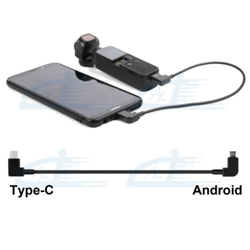 OTG Charge Data Transfer Cable for DJI OSMO POCKET 2 Type C to Android Micro USB