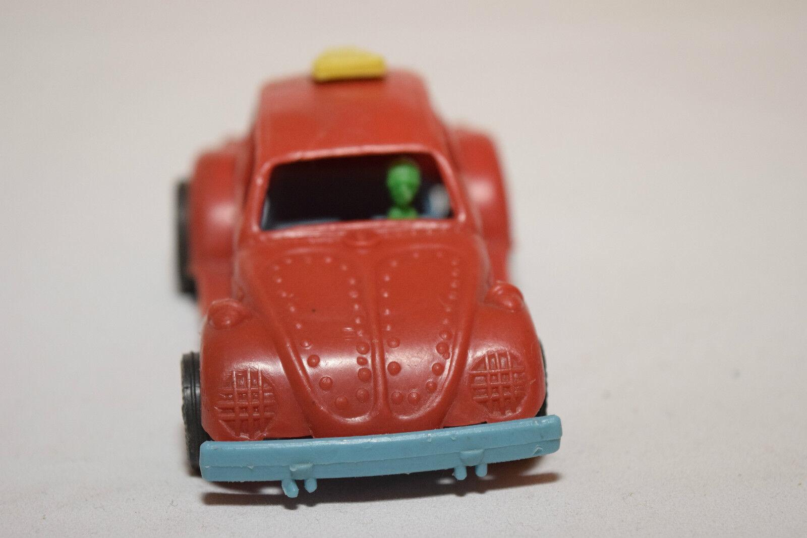 ESCUDERIA WOS-VAGUEN SOFT PLASTIC VW VOLKSWAGEN BEETLE KAFER rojo rojo rojo EXCELLENT RARE 1d6f92