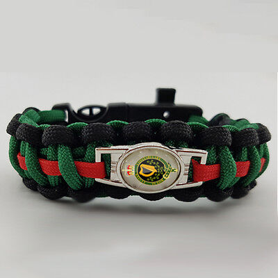 59 Commando Royal Engineers Badged Survival Bracelet Tactical Edge.