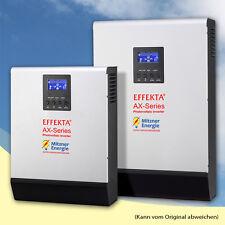 Effekta AX M 2000 24V / 0,6 KWp-PV / AX-Serie 2KVA Last / Hybrid Wechselrichter