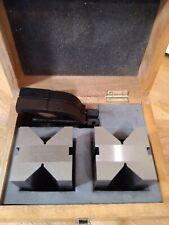 Mitutoyo Precision Inspection V Blocks Set Model 181 904