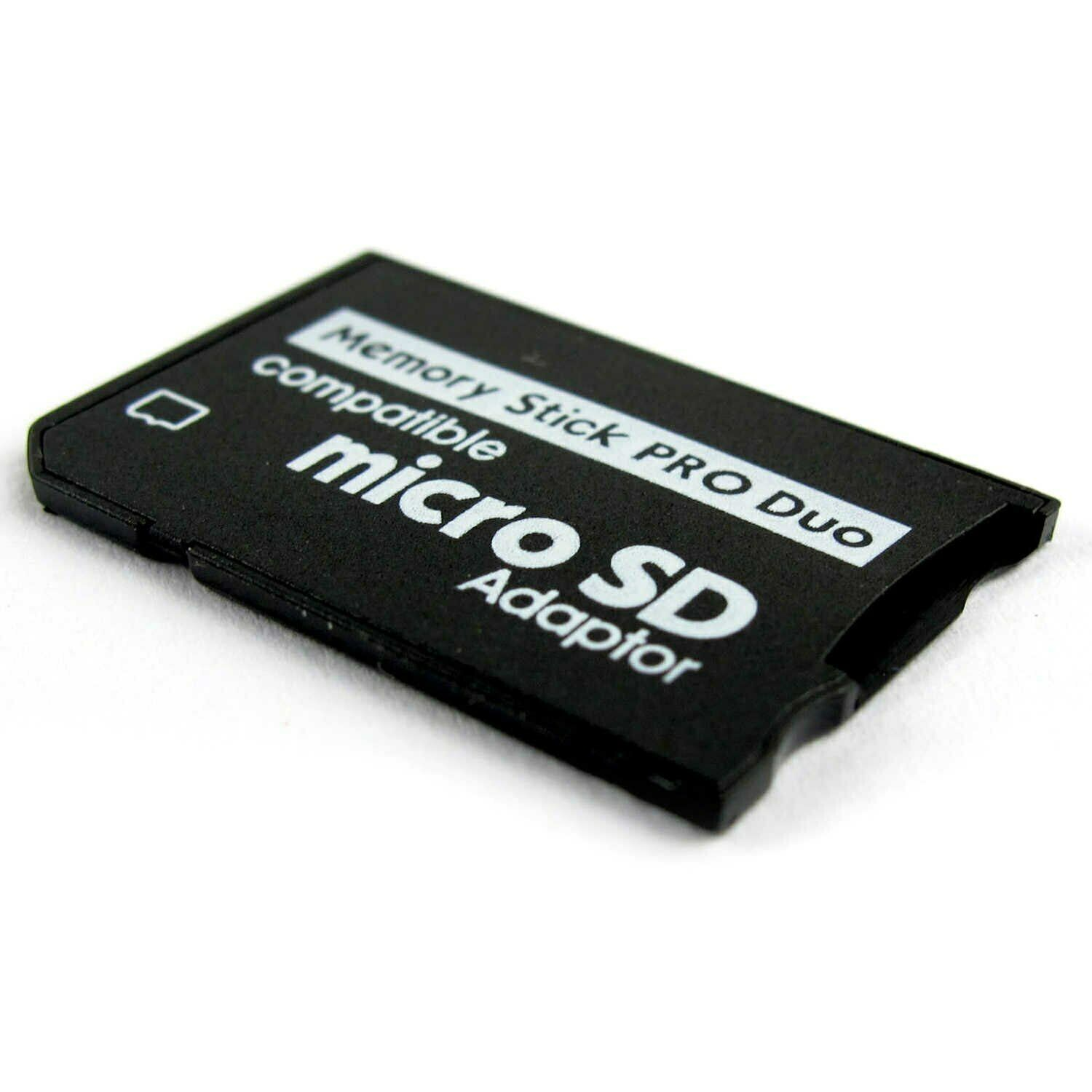 Memory Card Adapter For Sony PSP 1000 2000 3000 Micro SD to MS Pro Duo