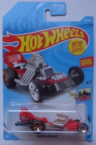 2019 Hot Wheels HW RIDE ONS 4//5 Diaper Dragger 116//250