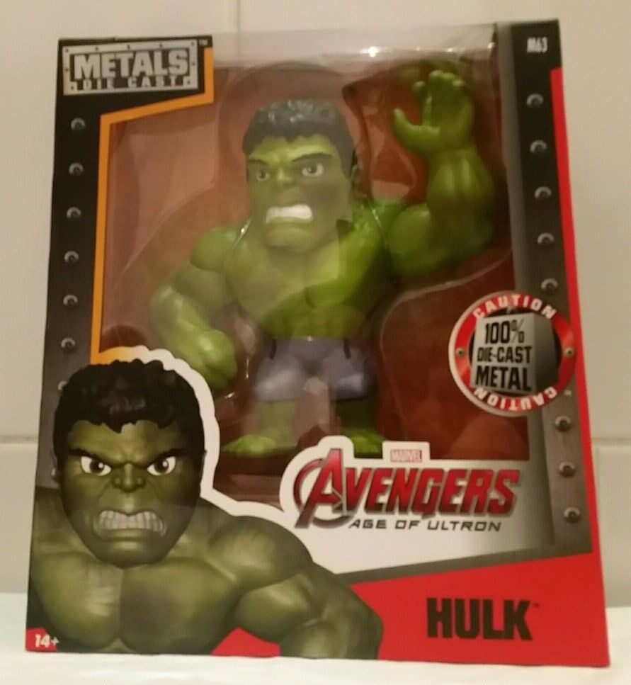 Jada Metals Die Cast Marvel Avengers Age Of Ultron Ultron Ultron Hulk 6  Figure Model d43ad1