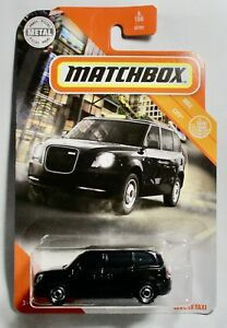LEVC TX Taxi #6 2020 Matchbox Case W BLACK