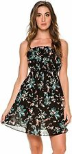 Free People Women's Jolene Printed Mini Slip Dress Large $88