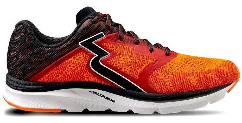 361 Degrees Para hombres Zapatos Deportivos spinject-riesgo Rojo Negro (Y804-3109)