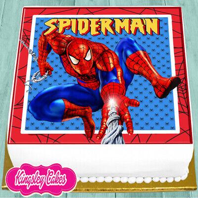 PRECUT EDIBLE ICING 7.5 INCH NEMO /& FRIENDS BIRTHDAY SQUARE CAKE TOPPER NS1650