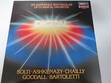 LONDON DIGITAL AUDIOPHILE SOLTI~ASHKENAZY~CHAILLY~GOODALL VINYL LP LDR71099