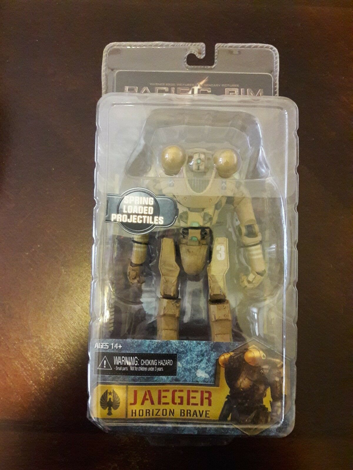 JAEGER HORIZON BRAVE Pacific Rim 7  inch Movie Figure Series 6 Neca 2015