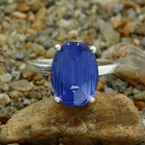 Tanzanite 925 Sterling Silver Ring Jewelry DGR1075/_H