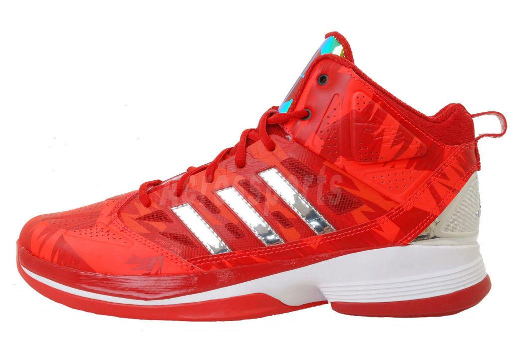 Men's Adidas Dwight Howard Light G59750 Sz 17 NWT Basketball Shoes Red