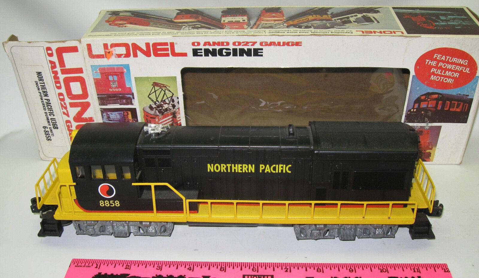 Lionel 6 - 8858 North Pacific Pacific Pacific u36b (simulador no dinámico) b53