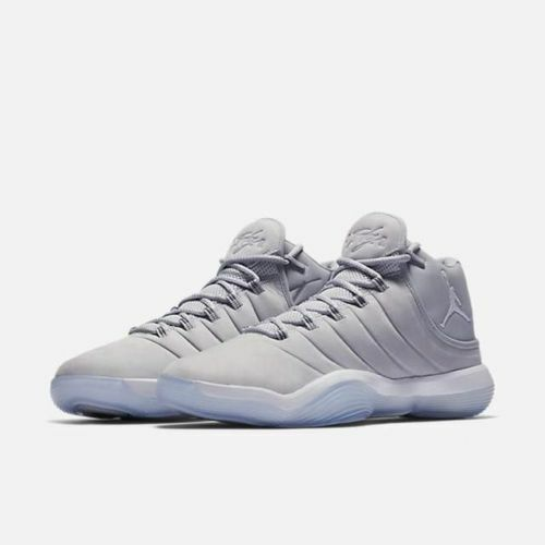 cf08edb6a372 Mens Air Jordan Super.fly 2017 Wolf Grey White Pure Platinum 921203-003 US  12 for sale online