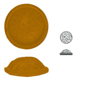 Antikglasmuggelsteine-2-Stk-rund-Raender-geschert-ca-14-mm-h-ca-6-mm