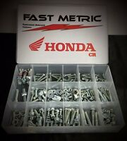 250pc Honda Bolt Kit For Cr250 Plastics Seat Body Rotor Sprocket And More