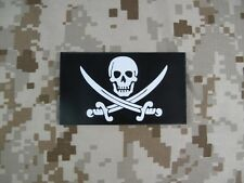 Dummy Navy SEAL Team Skull Pirate Patch (Black)  PAT000017 mbss mlcs