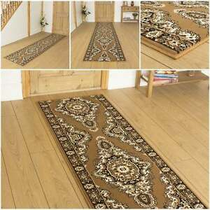 turkesh gold l ufer teppich flur matte f r halle extra. Black Bedroom Furniture Sets. Home Design Ideas