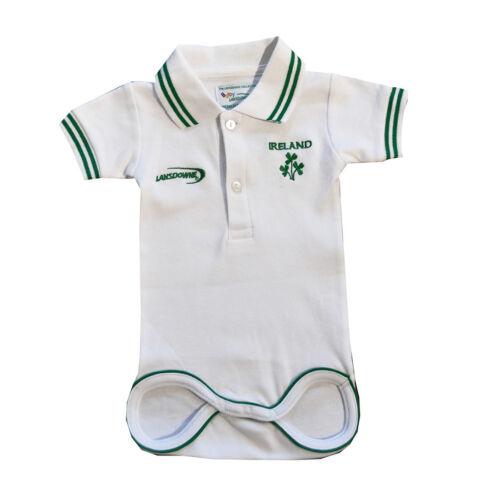 Kids White  Ireland Rugby Vest