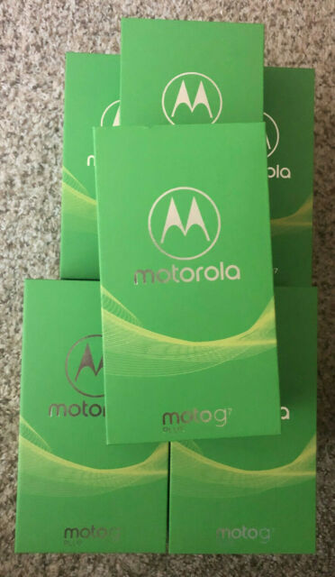 "Motorola Moto G7+ Plus. Factory Unlocked, 6.2"", 16MP Camera, Free Priority Shpng"