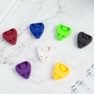 5Pcs-Portable-Plactic-Guitar-Pick-Plectrum-Holder-Case-Box-Acoustic-HeartShBLUS