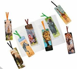 Safari-Animal-Bookmarks-Book-Reading-School-Party-Bag-Fillers-Pack-Size-6-48
