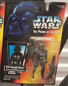 """Star Wars Power of the Force - Tie Fighter Pilot 3.75"""" Figure"""