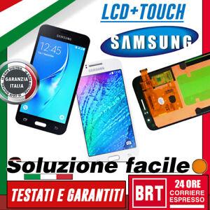 DISPLAY LCD+TOUCH SCREEN PER SAMSUNG GALAXY J1 2016 SM-J120 J120F SCHERMO VETRO!