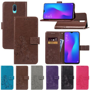 hot sale online 87e6b 230ab Details about For OPPO F9 A3S A5 R17 Pro Luxury Magnetic Flip Leather Case  Wallet Stand Cover