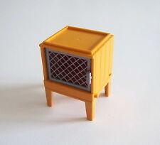 PLAYMOBIL (T1140) FERME - Clapier Cage à Lapins Emboitable sur Pieds 5123