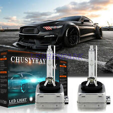Front Hid Headlight Bulb Fit For Ford Mustang 2010 2017lowamphigh Beam 6000k White Fits Mustang