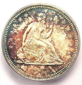 1859-Seated-Liberty-Quarter-25C-Coin-Certified-ICG-MS60-Details-UNC