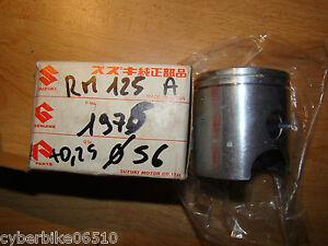 SUZUKI-RM-125-1975-1978-PISTON-D-ORIGINE-NU-COTE-0-25-12110-41750