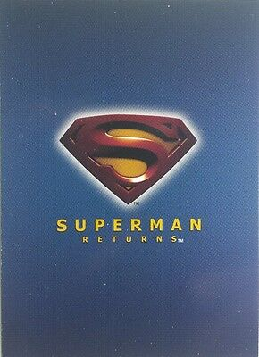 SUPERMAN RETURNS Movie trading card set of 90 topps 2006 Kevin Spacey